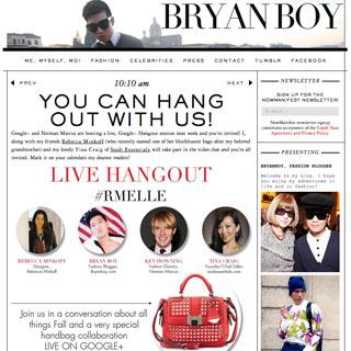 Bryanboy - NYC