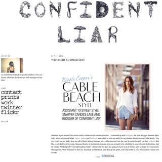 Confident Liar - Sydney