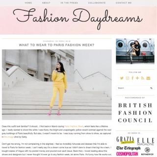 Fashion Daydreams - London