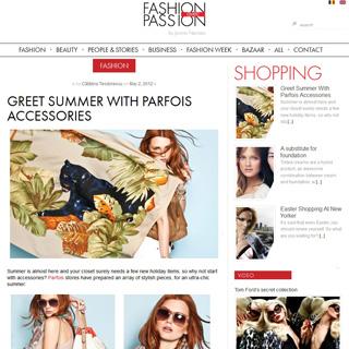 Fashion avec Passion - Bucharest