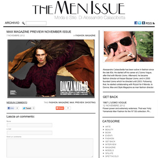 The Men Issue - Milan